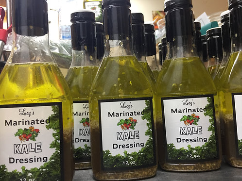 Lucy's Marinated Kale Dressing