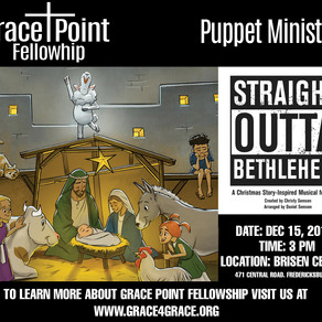 Grace-Point Fellowship Launches New Puppet Ministry!
