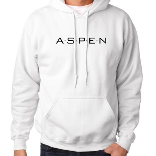 ASPEN logo Men's hoodie sweatshirt