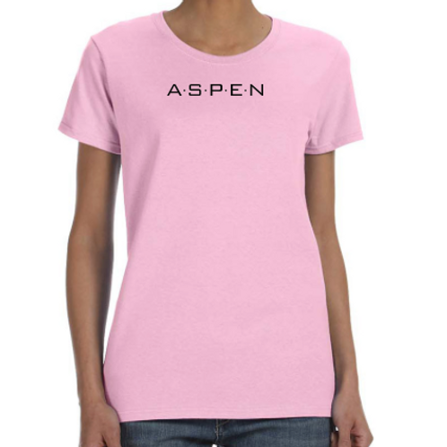 ASPEN Logo Women's fitted t-shirt