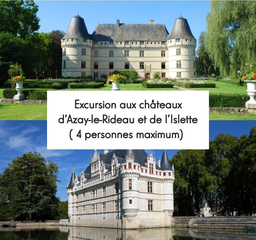 Châteaux d'Azay-Le-Rideau et l'Islette