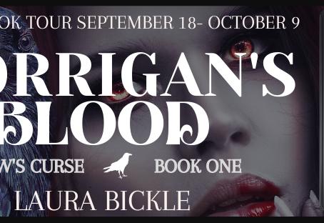 Virtual Book Tour for Morrigan's Blood