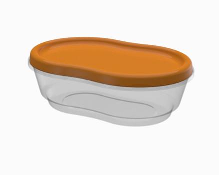 קופסא 1.2 ל' אובלית