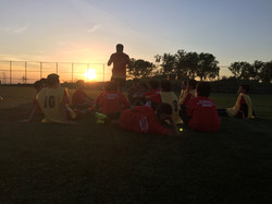 Great pic after practice at Bush Ter