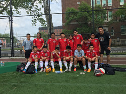 U11 Team at Scarangela Park