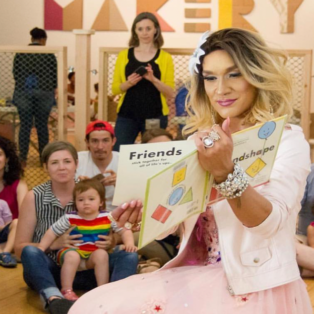 Drag Queen Story Hour Exposes Kids to Gender Fluidity