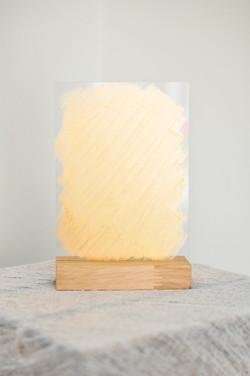 Gold Perspex Frames