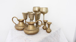 Assortment of Brass Ornaments