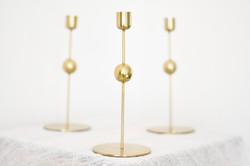 Gold Candle Sticks