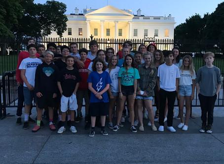 Hatteras Island Students Visit D.C.