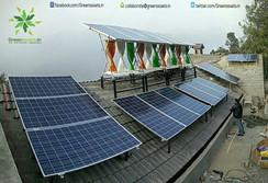 8kW SolarMills Hybrid Power Plant at Jangalia Gaon, Bhimtal