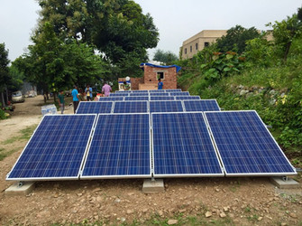 6kW Solar PV Power Plant at Ganga Maaki Design Studio, Ranipokhri