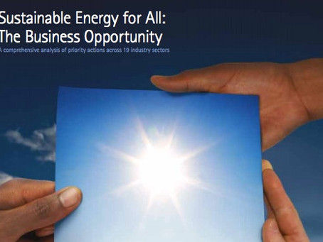 Sustainable Energy for all: The Business Opportunity