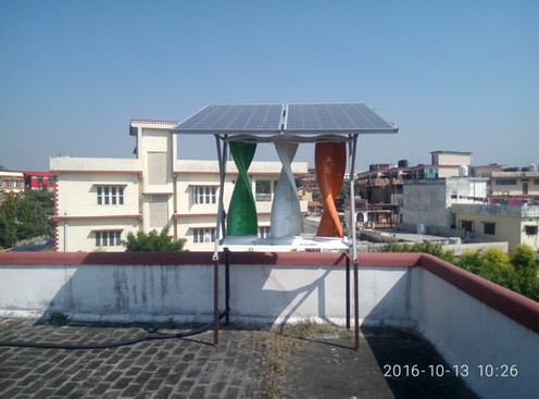 SolarMills Hybrid at UREDA office, Dehradun