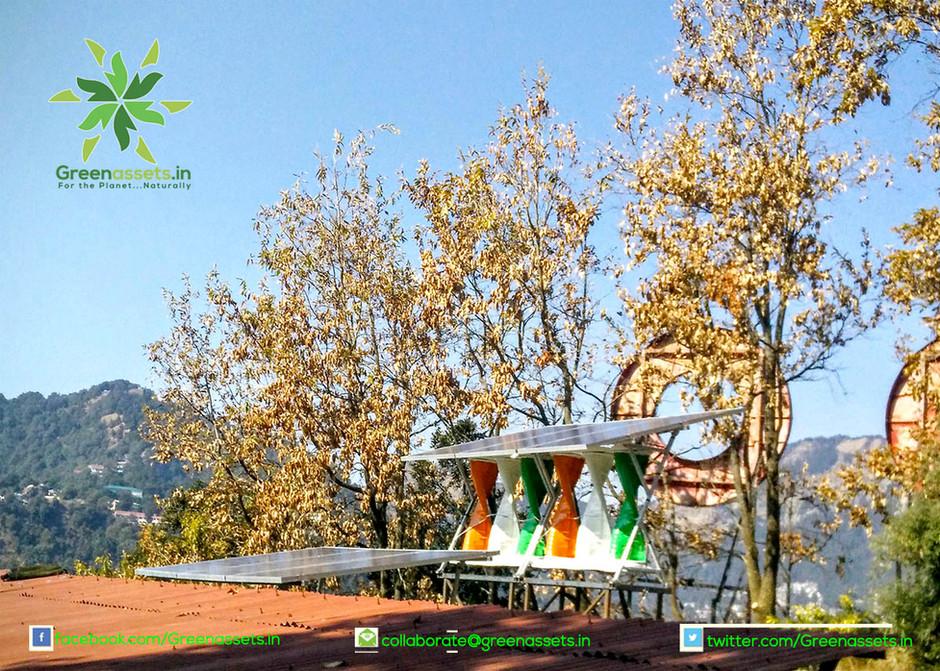 SolarMills Hybrid Power Plant at G.B Pant High Altitude Zoo, Nainital