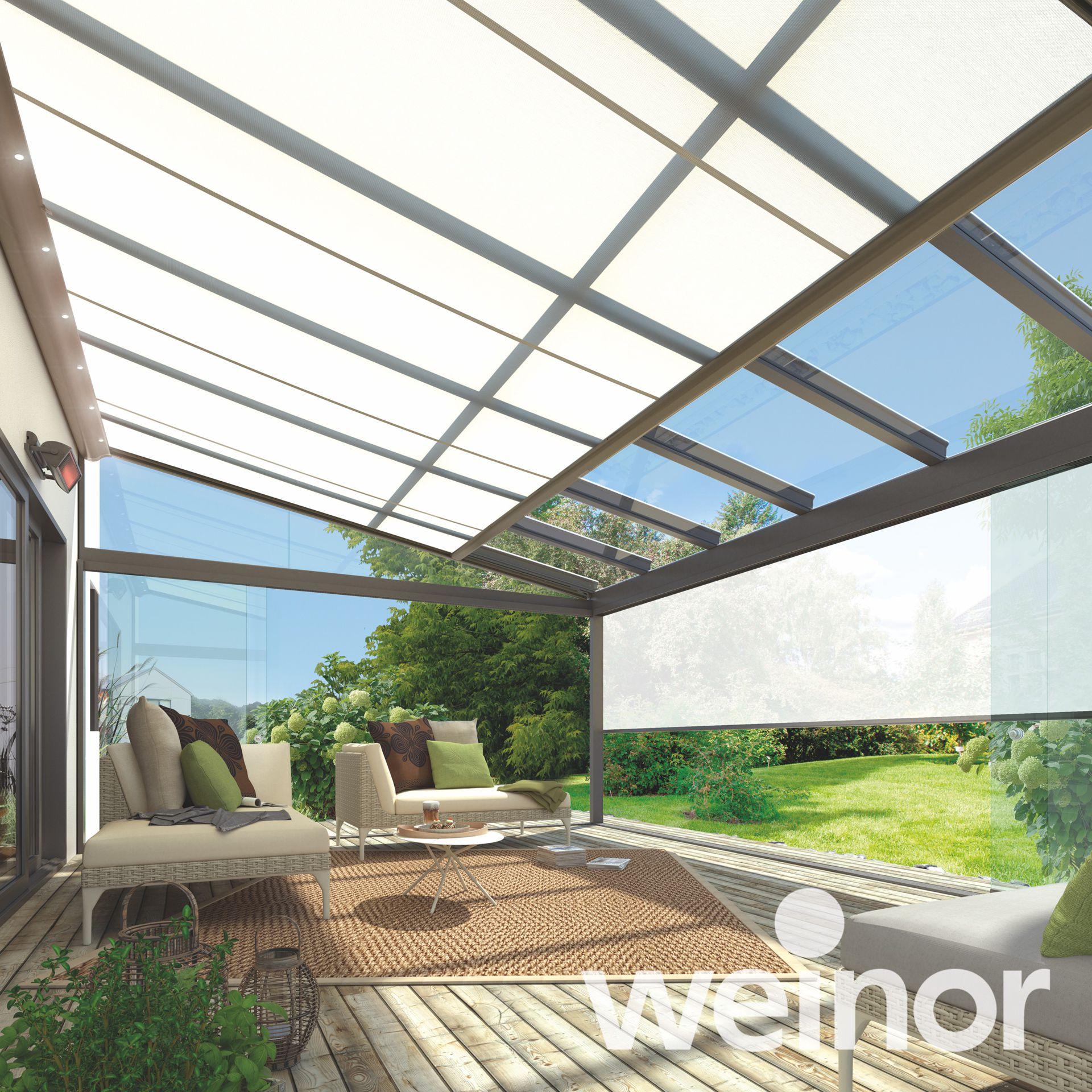 Weinor Üvegoázis teraszbeépítés