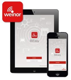 Weinor BiEasy app.