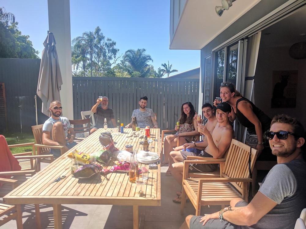 Rencontre nouveau et ancien à Brisbane !