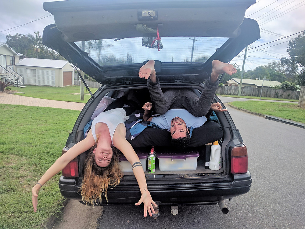 Upside Down van - Brisbane - PVT Australie