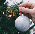 Christmas Tree Lights and Ornament
