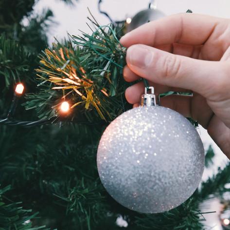 Arbre de Noël Lumières et Ornement