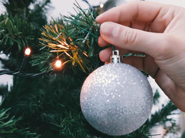 Christmas Tree Lights and Ornament