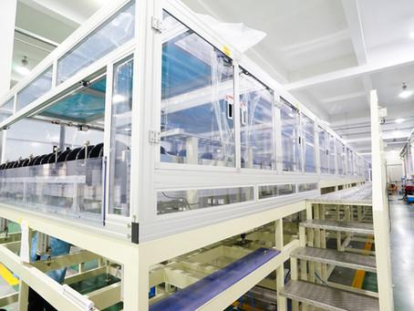 ACE助力战略客户顺利交付G8.6代玻璃基板化学湿清洗设备