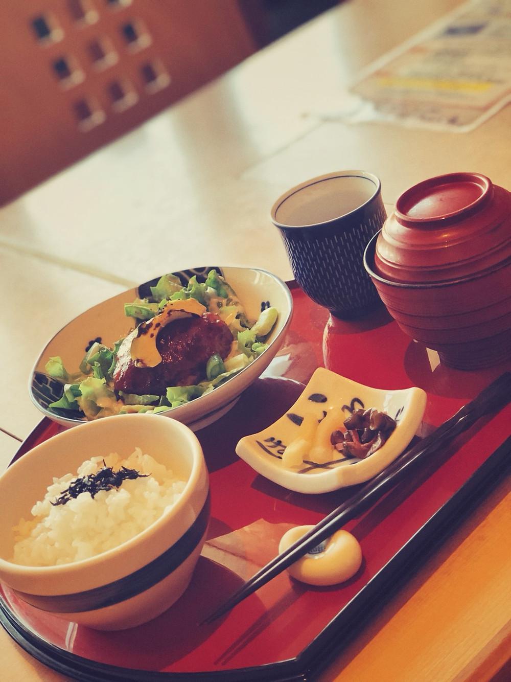 豆腐ハンバーグ・豆腐・豆腐アイス・ソイラテ