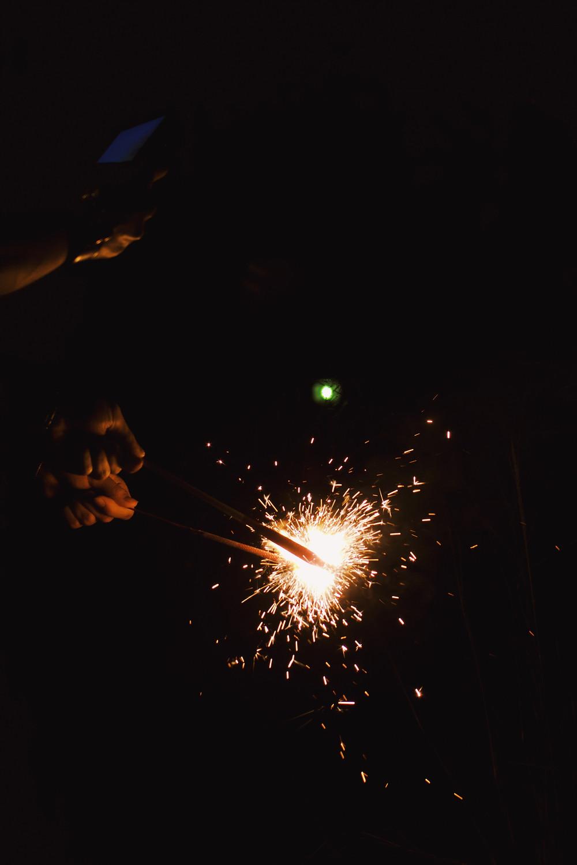 切ない花火の写真