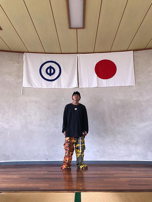 パルクールパフォーマーTAISHI in 種子島