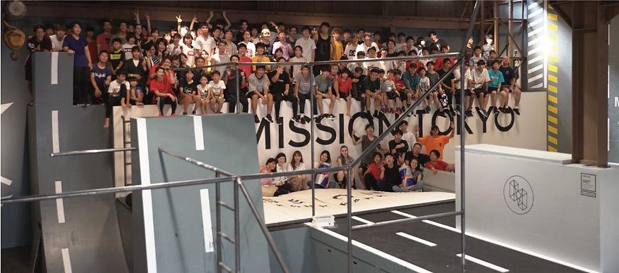 「MISSION PARKOUR PARK TOKYO」オープン日