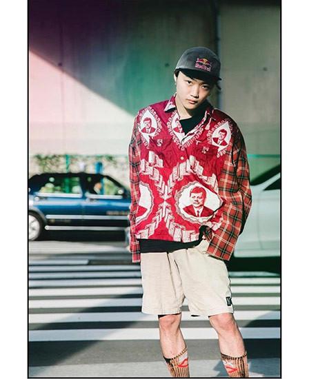 monsterpk・KENICHI、リメイクシャツ