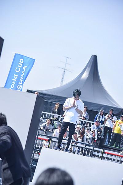 パルクールアスリートSEI、広島の世界大会出場