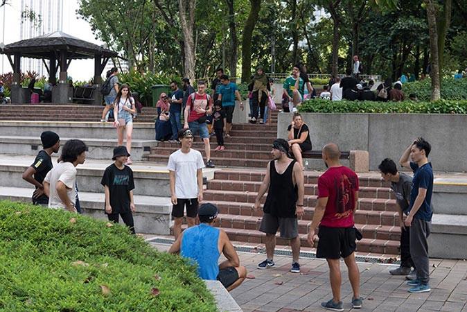 マレーシアのパルクールコミュニティ