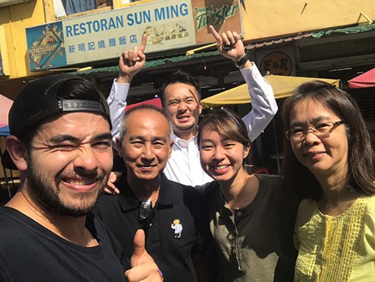 パルクールコーチのマサ in マレーシア