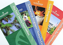 Ford Family Foundation brochures