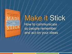 Make It Stick workshop
