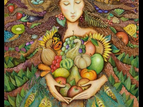 My Autumn Mother  Come snuggle up in your divine mother's lap. Slip into sacred introspection.