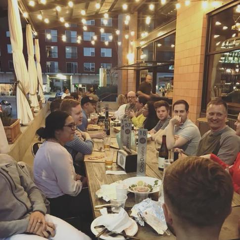 Social Hour at Cibo Divino April 2018