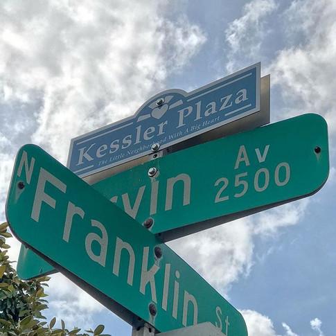 Kessler Plaza Sign Topper