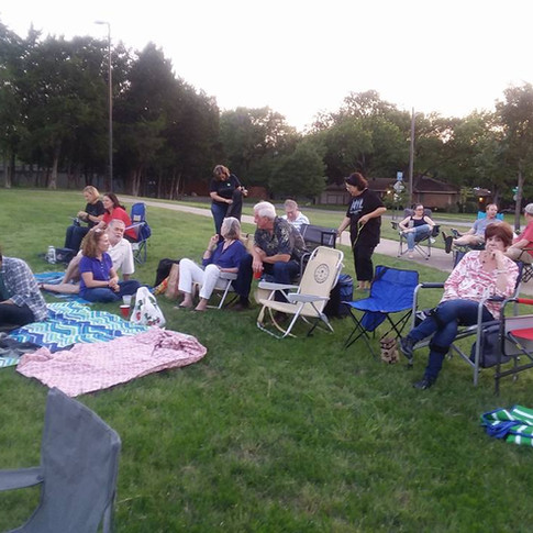 Movie Night in the Park June 2017