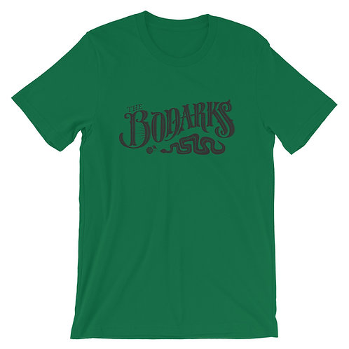 Short-Sleeve Unisex T-Shirt w/ Bodarks Serpent logo
