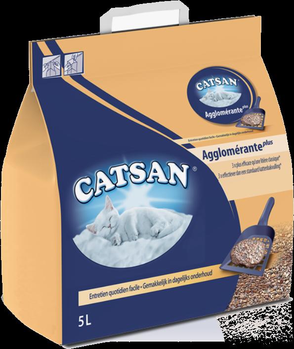 Litière minérale agglomérante CATSAN
