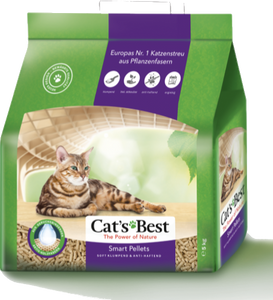 Litière végétale CAT'S BEST Smart Pellets