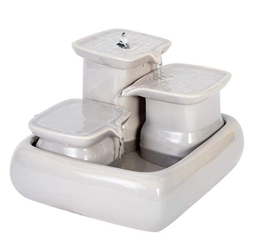 Fontaine à eau en céramique pour chats Miaustore
