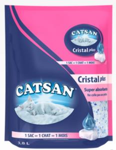 Litière silice CATSAN