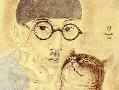 Foujita, peintre à chats