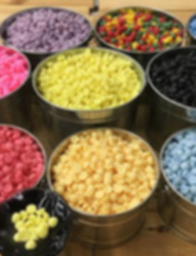 silver  buckets filled with colorful aroma buttons.jpg