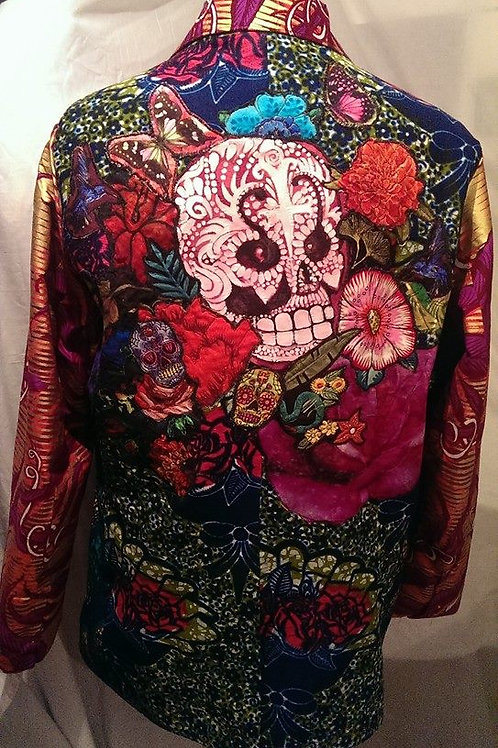 The Peacocking Skull Blazer