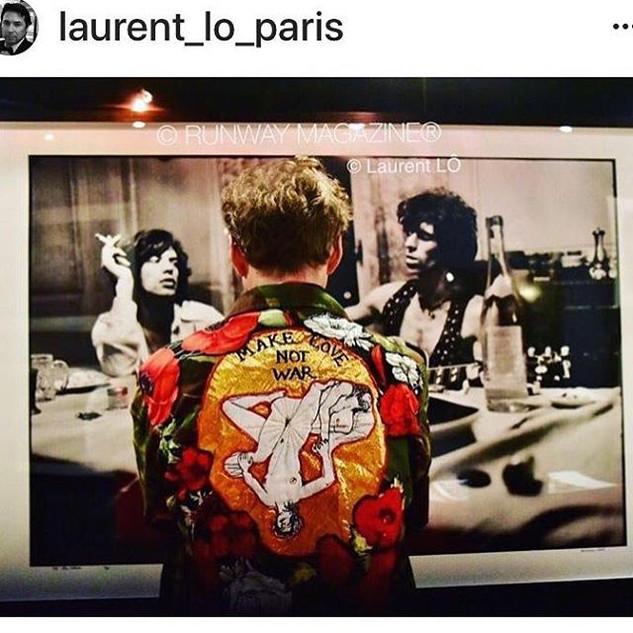 Regram from _laurent_lo_paris , my gorge